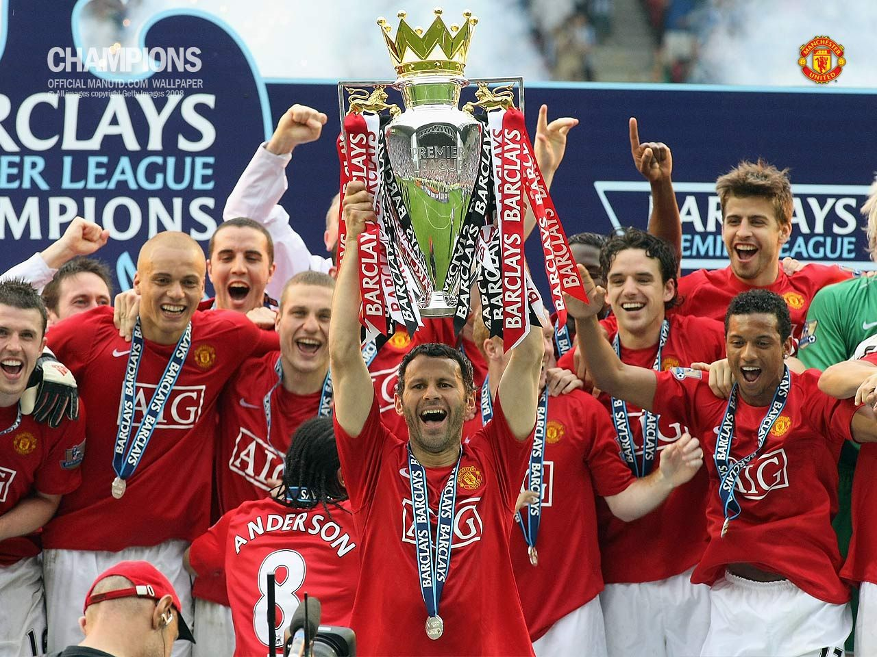 Champions 2007 2008 1 manchester united wallpaper champions 2007 2008 1 voltagebd Image collections