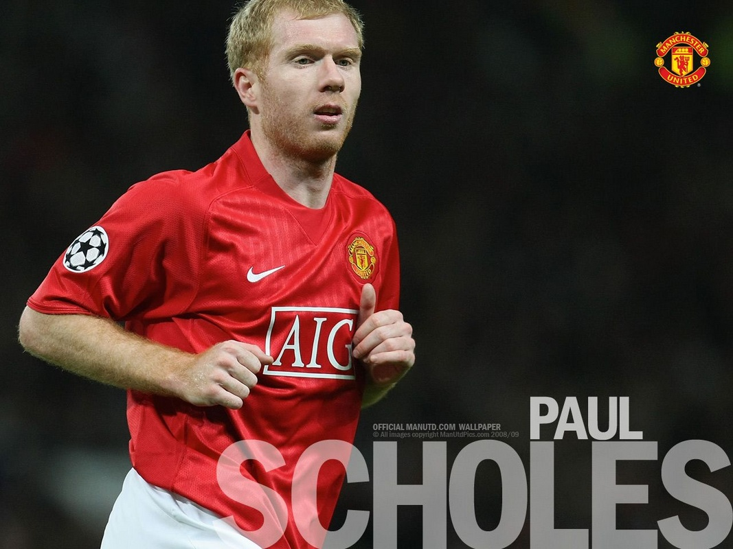 Paul Scholes: Manchester United Wallpaper