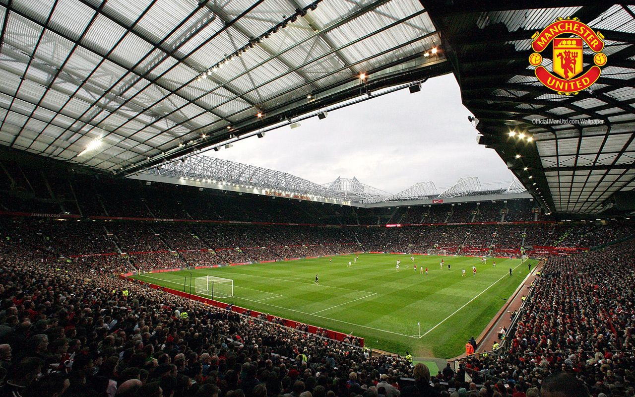 Old Trafford Stadium Manchester United Wallpapers Hd Beautiful Beach