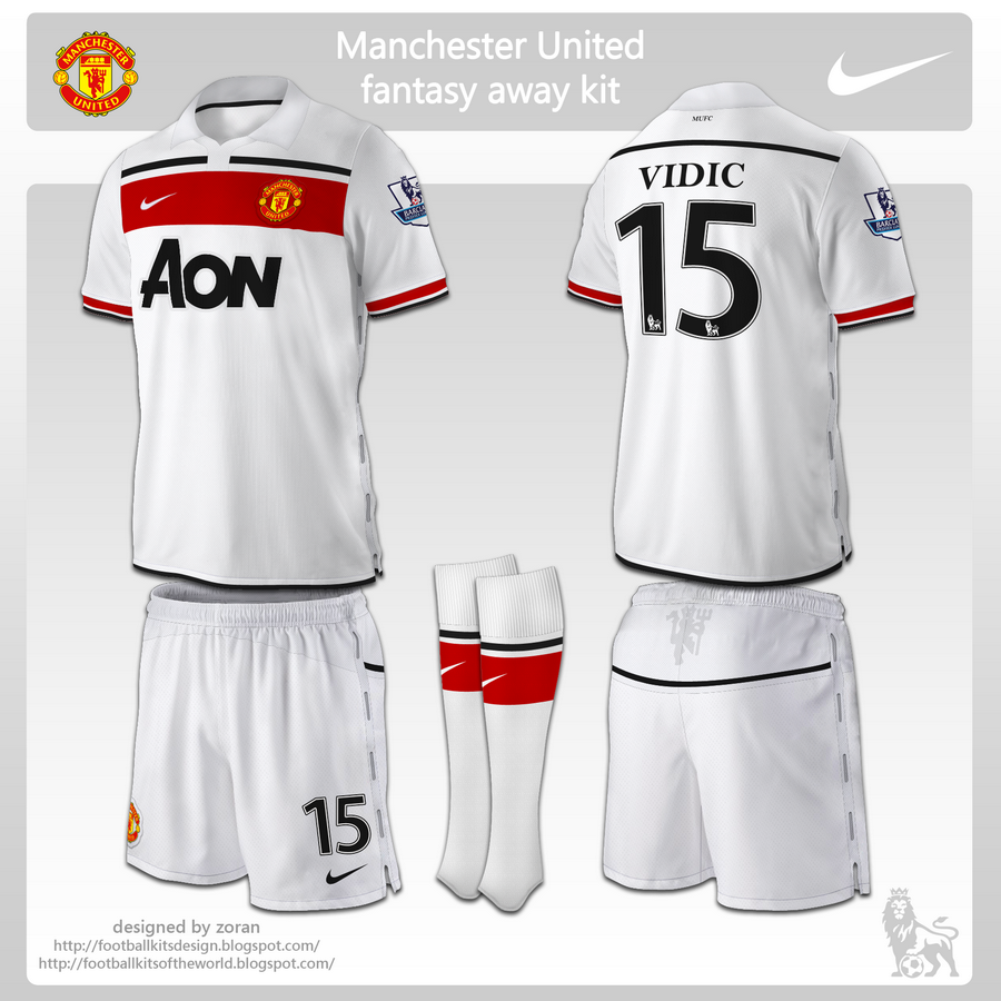 Design t shirt manchester united - Manchester United Kit Design Advertisements