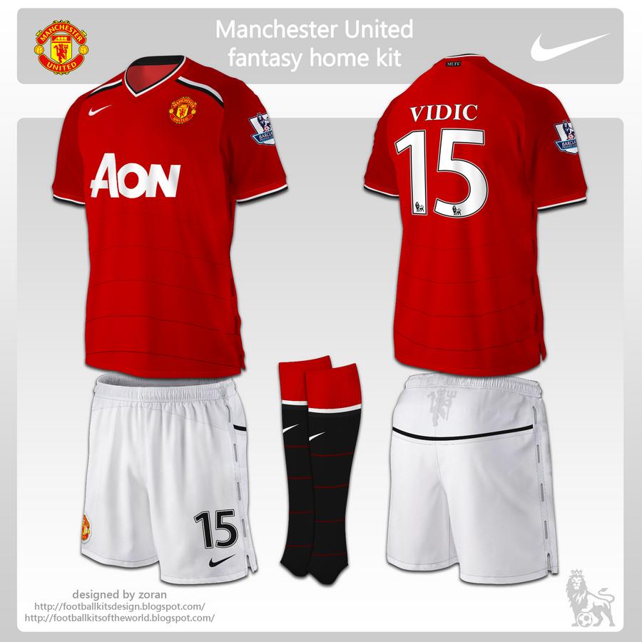 Design t shirt manchester united - Manchester United Kit Design Posted