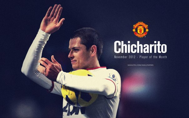 Chicharito Wallpaper - Player of The Month November 2012