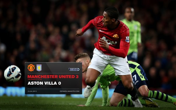 Manchester United Matches Wallpaper 2012-2013 v Aston Villa Home Valencia