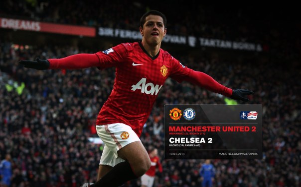 Manchester United Matches Wallpaper 2012-2013 v Chelsea FA Cup Home