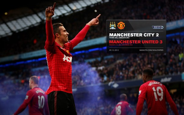 Manchester United Matches Wallpaper 2012-2013 v City Away