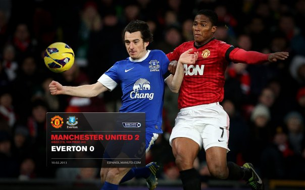 Manchester United Matches Wallpaper 2012-2013 v Fulham Everton Home Valencia
