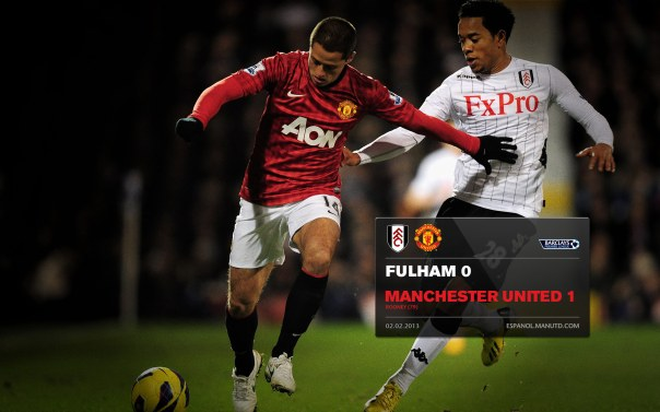 Manchester United Matches Wallpaper 2012-2013 v Fulham Fulham Away Chicharito