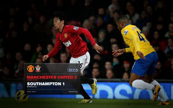 Manchester United Matches Wallpaper 2012-2013 v Fulham Southampton Home Kagawa