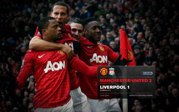 Manchester United Matches Wallpaper 2012-2013 v Liverpool Home