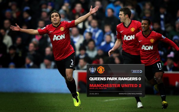 Manchester United Matches Wallpaper 2012-2013 v QPR Away