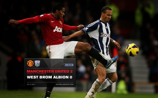 Manchester United Matches Wallpaper 2012-2013 v WBA Home Valencia