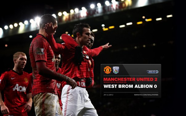 Manchester United Matches Wallpaper 2012-2013 v WBA Home