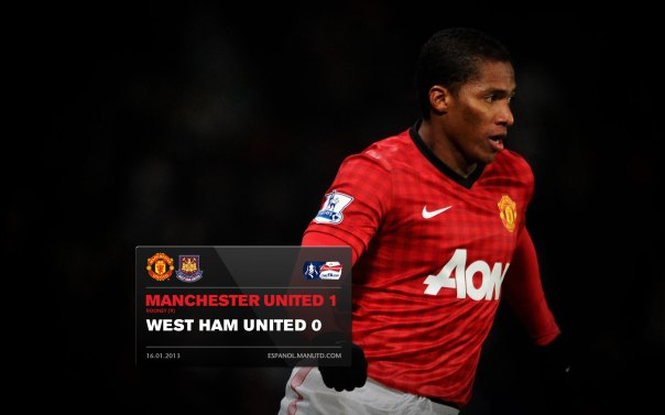 Manchester United Matches Wallpaper 2012-2013 v West Ham Home FA Cup Valencia