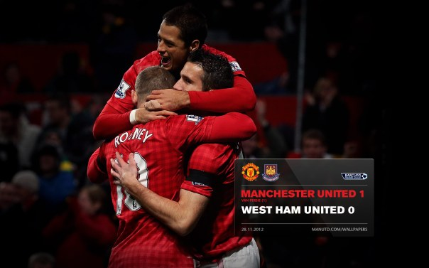 Manchester United Matches Wallpaper 2012-2013 v WHU Home