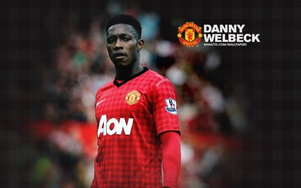 Manchester United Players Wallpaper 2012-2013 #19 Danny Welbeck