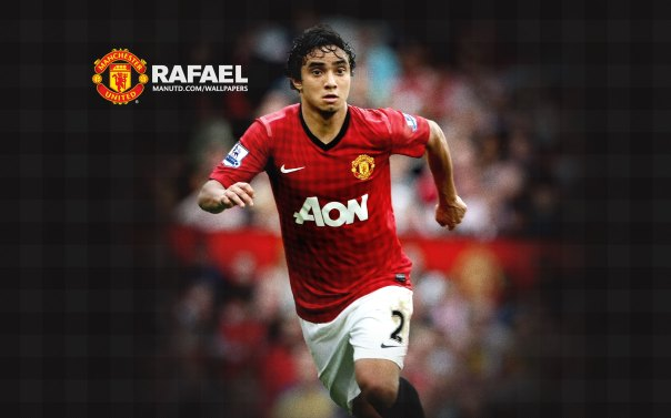 Manchester United Players Wallpaper 2012-2013 #2 Rafael da Silva