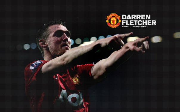 Manchester United Players Wallpaper 2012-2013 #24 Darren Fletcher