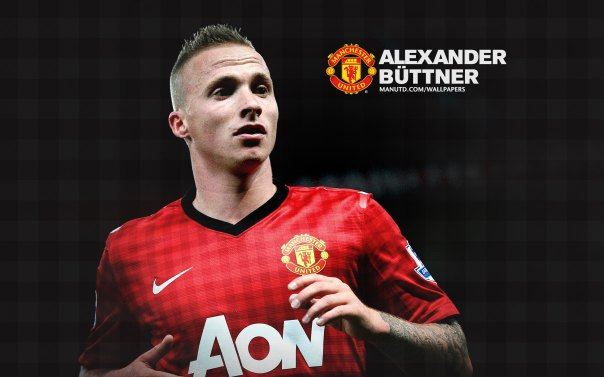 Manchester United Players Wallpaper 2012-2013 #28 Alexander Buttner