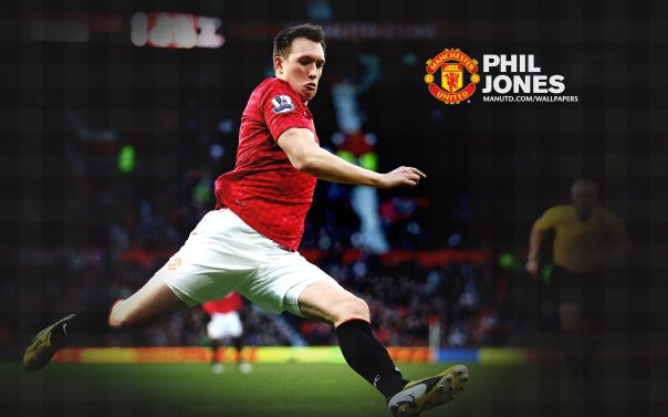 Manchester United Players Wallpaper 2012-2013 #4 Phil Jones