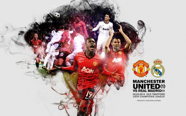 Manchester United vs Real Madrid Wallpaper