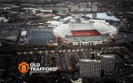 Old Trafford Wallpaper 2012-2013 Aerial