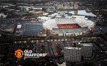 Old Trafford Wallpaper 2012-2013 Aerial