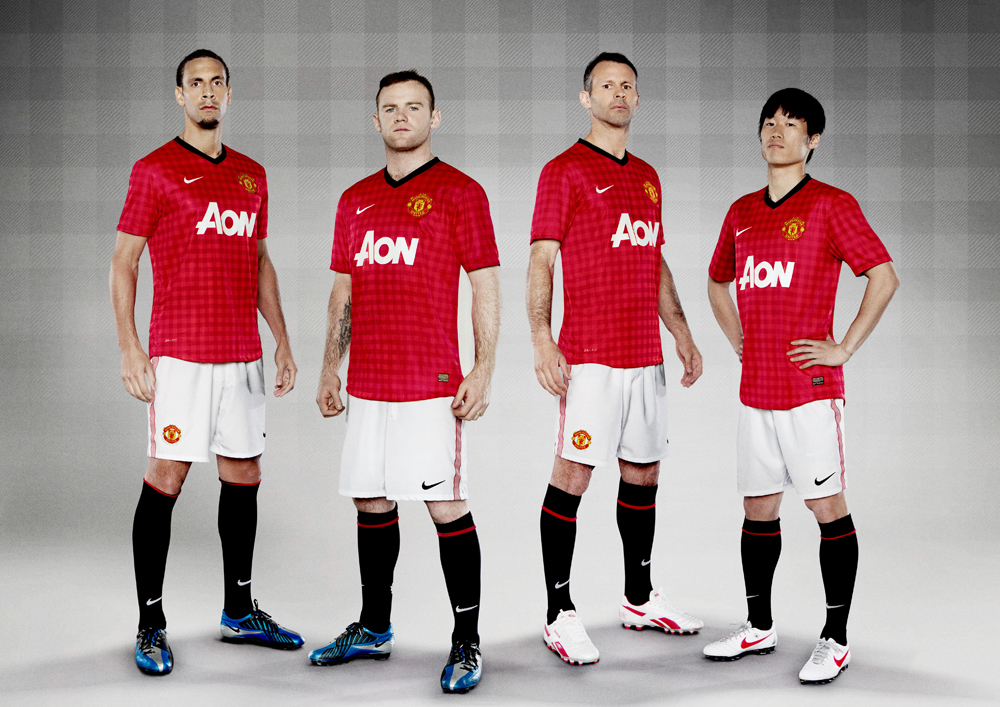 Manchester United New Home Kit 2012 2013