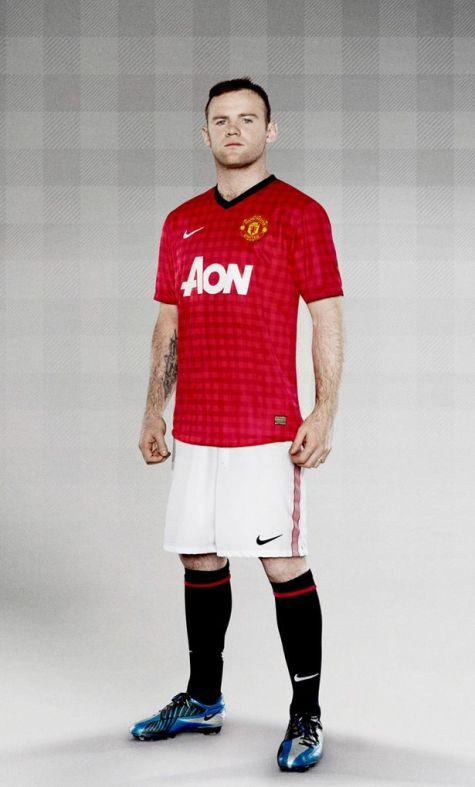 Manchester United New Home Kit 2012 2013  14