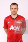 Manchester United Portrait Session 2012-2013 Dimitar Berbatov (1)
