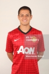 Manchester United Portrait Session 2012-2013 Javier Hernandez (1)