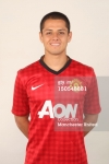 Manchester United Portrait Session 2012-2013 Javier Hernandez (2)