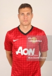 Manchester United Portrait Session 2012-2013 Nemanja Vidic (1)