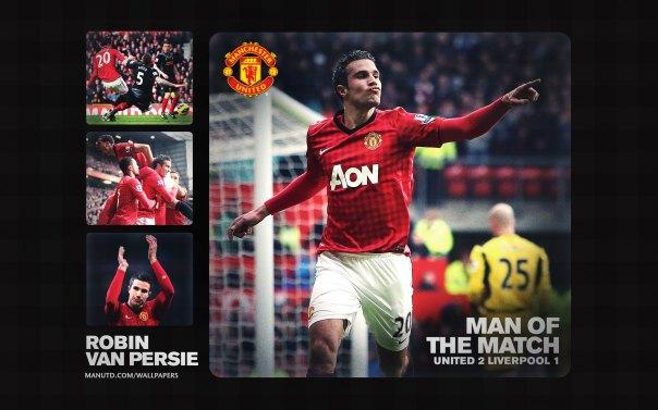 Robin Van Persie Wallpaper - Man of The Match Wallpaper 2012-2013 vs Liverpool Home