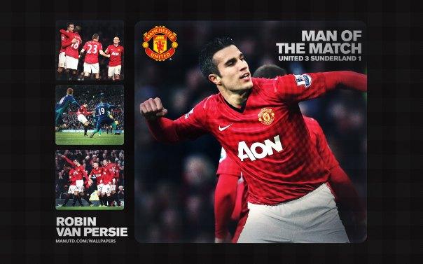 Robin Van Persie Wallpaper - Man of The Match Wallpaper 2012-2013 vs Sunderland Home