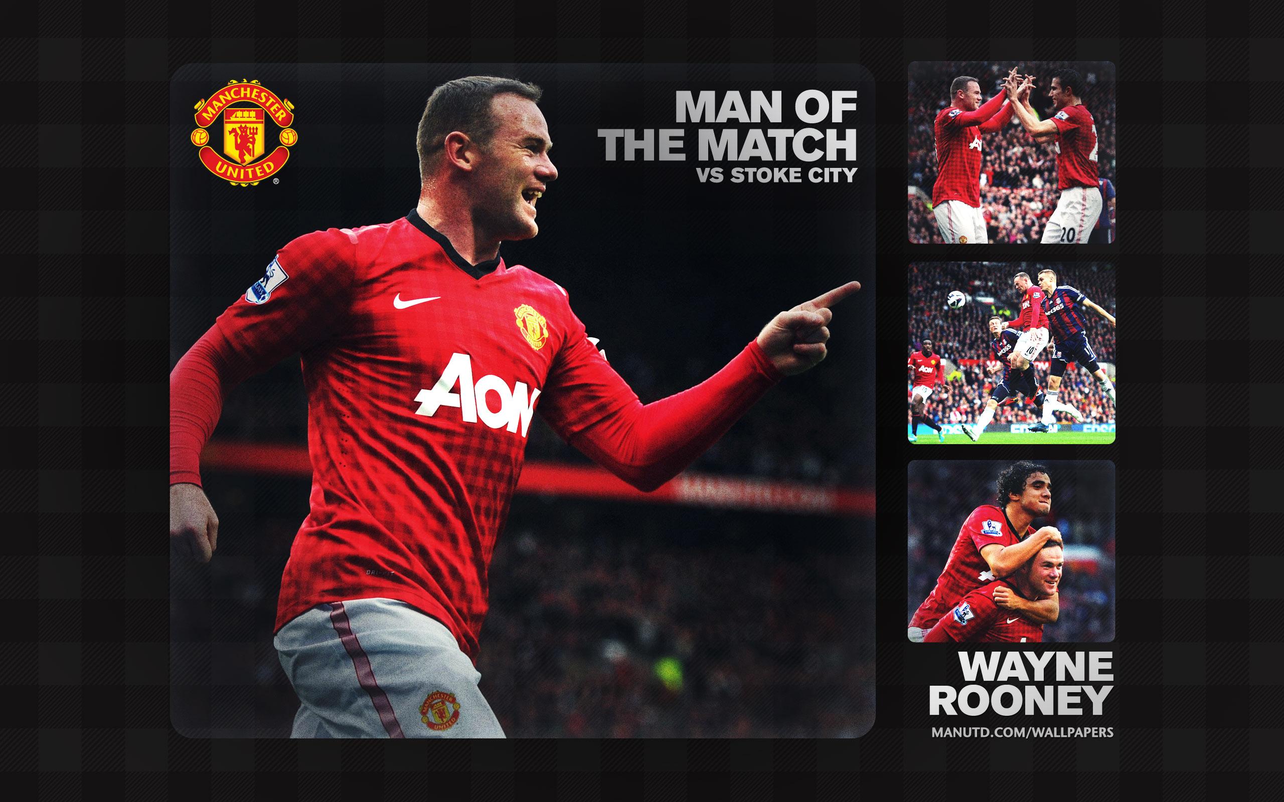 Manchester United Vs Manchester City 2012 Full Match: Manchester United Wallpaper