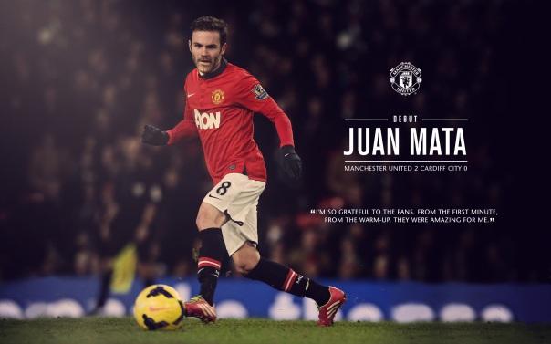 Juan Mata Debut Wallpaper