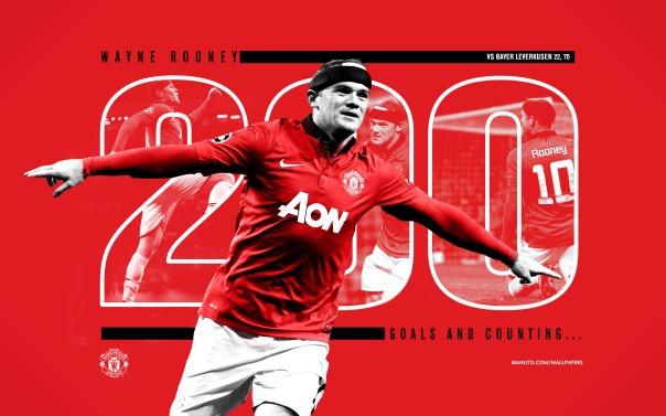 Rooney 200 Wallpaper