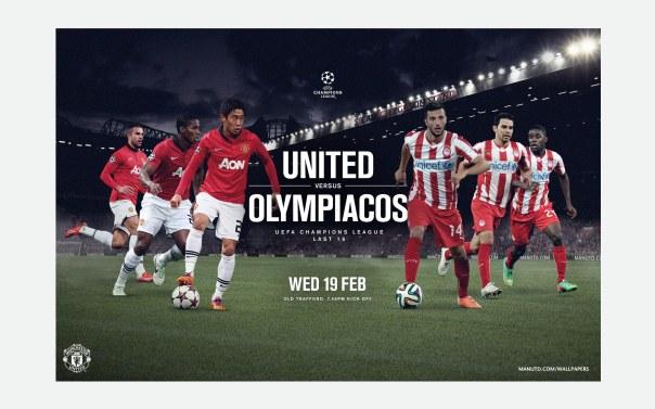 United v Olympiacos Wallpaper