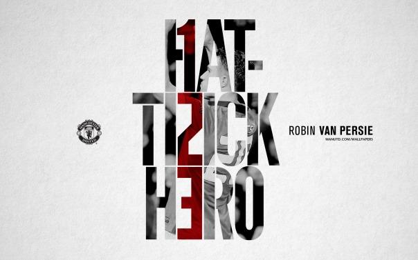 Van Persie Wallpaper - Hattrick Hero