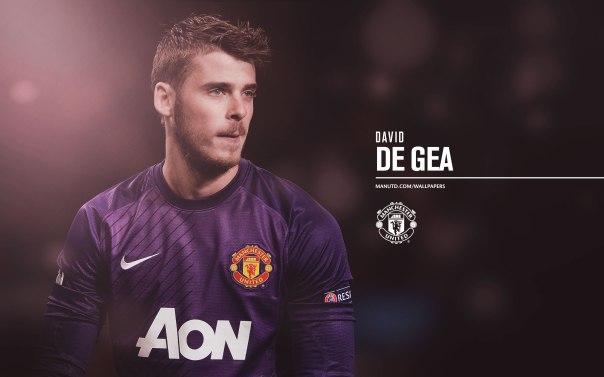 Manchester United Players Wallpaper 2013-2014 1 De Gea