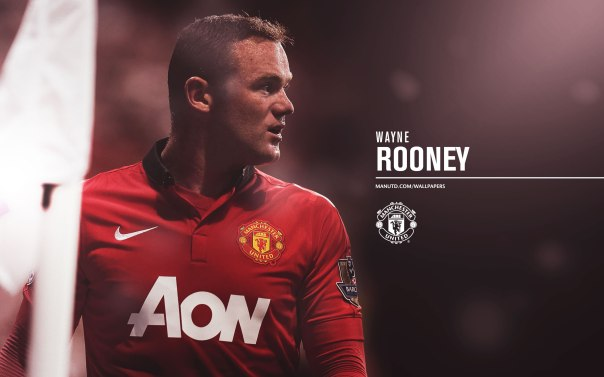 Manchester United Players Wallpaper 2013-2014 10 Rooney