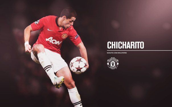 Manchester United Players Wallpaper 2013-2014 14 Chicharito