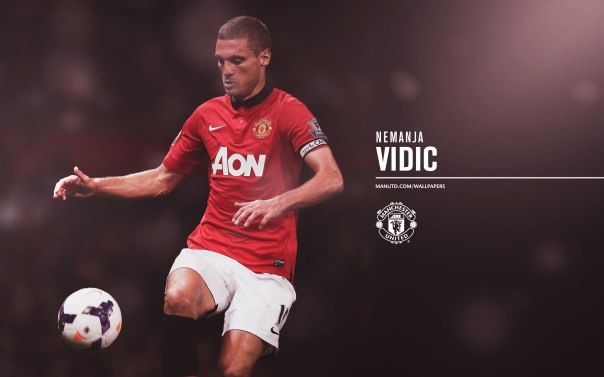 Manchester United Players Wallpaper 2013-2014 15 Vidic