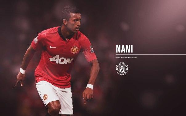 Manchester United Players Wallpaper 2013-2014 17 Nani