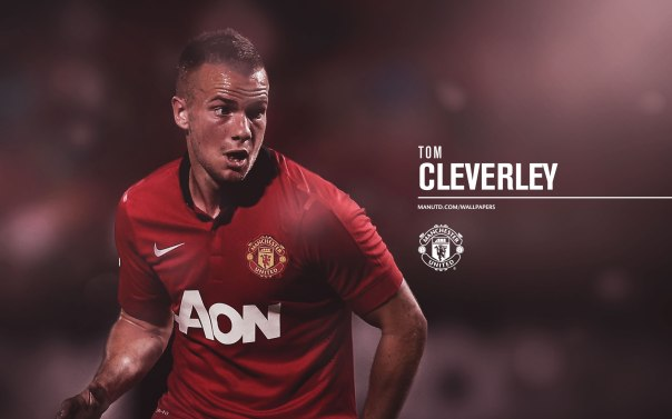 Manchester United Players Wallpaper 2013-2014 23 Cleverley