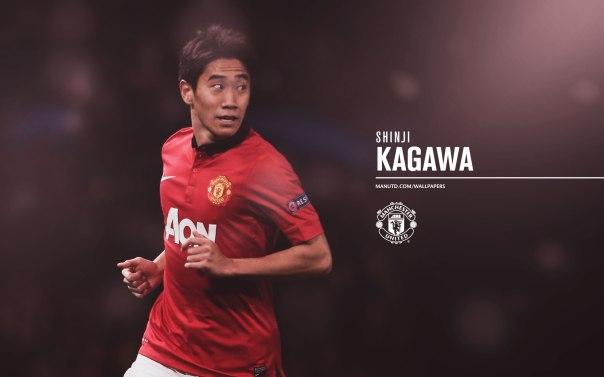 Manchester United Players Wallpaper 2013-2014 26 Kagawa
