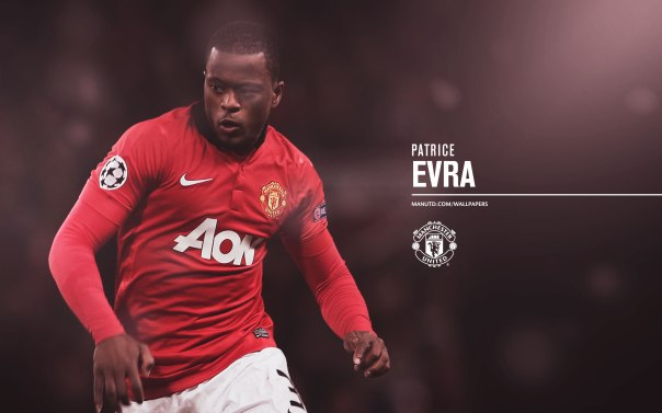 Manchester United Players Wallpaper 2013-2014 3 Evra