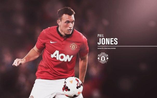Manchester United Players Wallpaper 2013-2014 4 Jones