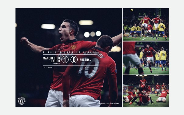 Manchester United v Arsenal Wallpaper 1