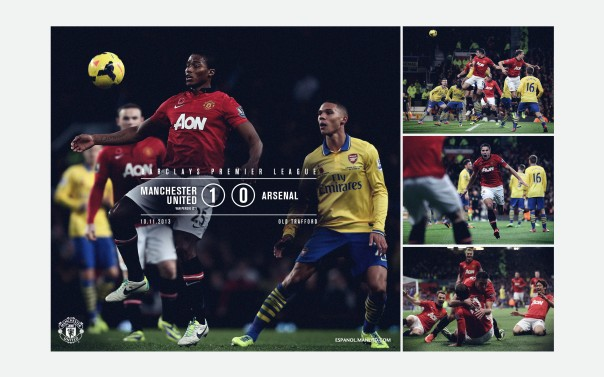 Manchester United v Arsenal Wallpaper 2